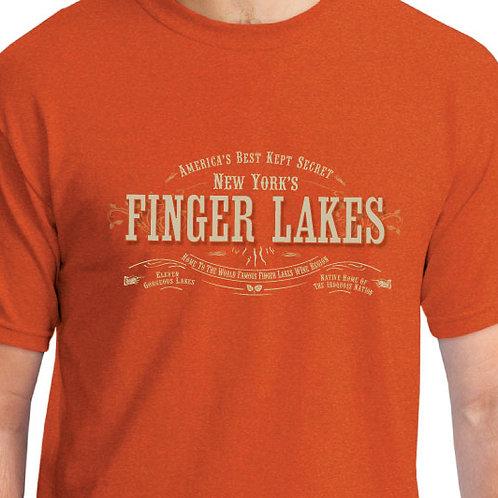 FINGER LAKES VINTAGE LOOK TEE-Wholesale