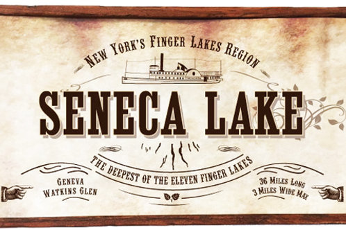 Antique Look Plaque - Seneca Lake