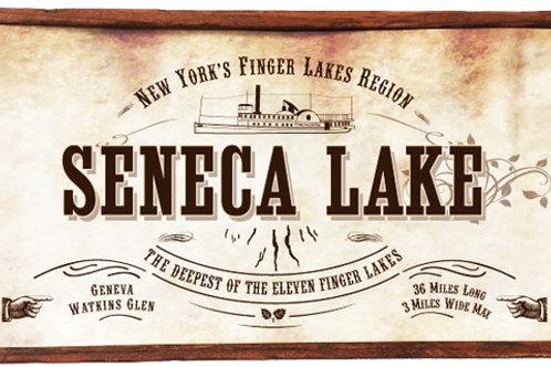 Antique Look Plaque - Seneca Lake