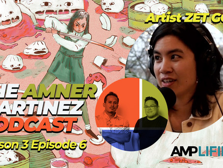 Watch the latest episode with artist Zet Gold