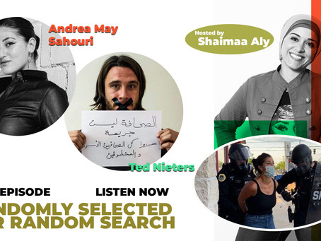 """""""I AM PRESS, I AM PRESS"""" New episode by Shaimaa Aly available today!"""