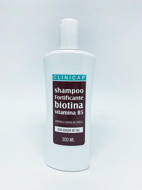 Shampoo Fortificante Biotina (sem adição de sal) 300ml