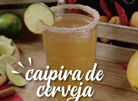 CaipaBeer - porque a cerveja também tem espaço no mundo das caipirinhas