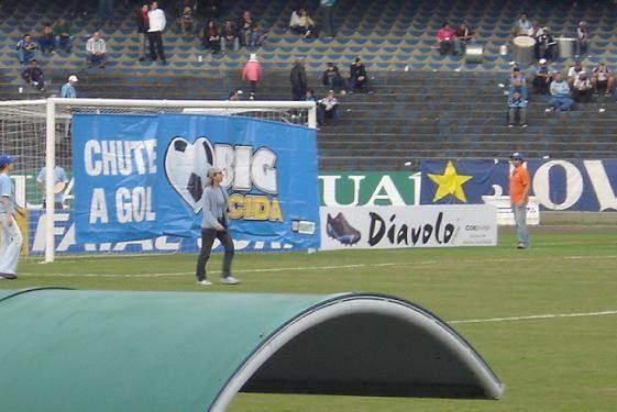 Big Torcida Banner Chute a gol