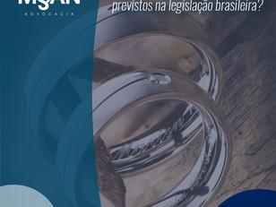 Quais são os regimes de casamento mais utilizados na legislação brasileira?