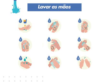 Como higienizar corretamente as mãos
