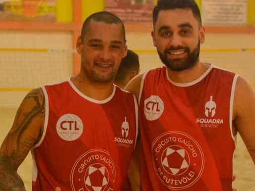 Junior e Gui no TAFC
