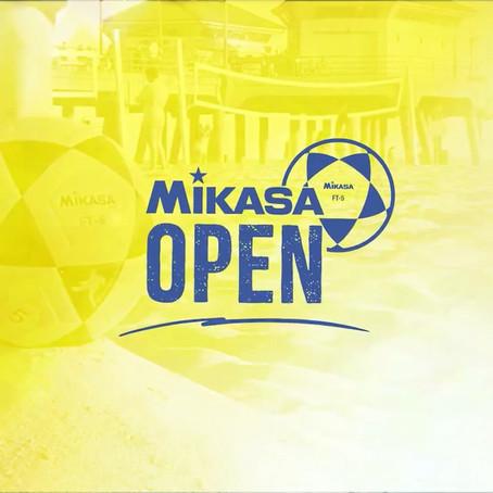 Lançamento do logo e do vídeo do Mikasa Open de Futevôlei