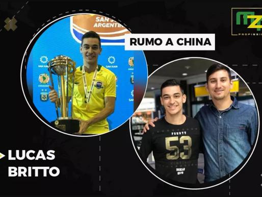 Lucas Britto rumo a China