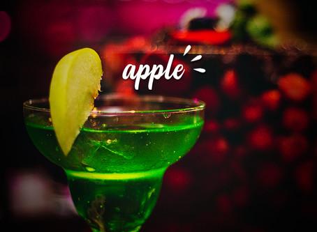 Drinks com Maçã Verde