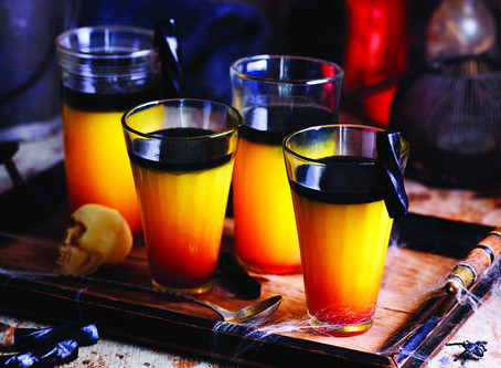 Comemore o Halloween com drinks cheios de estilo