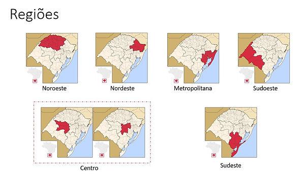 Regiões Copa RS