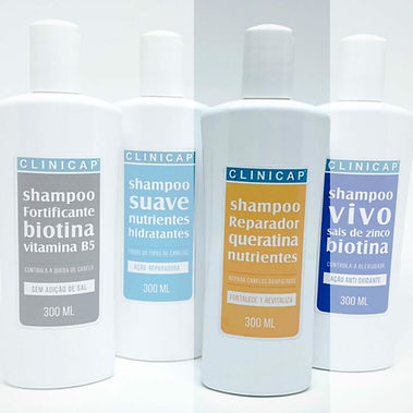 Shampoo Reparador com Queratina