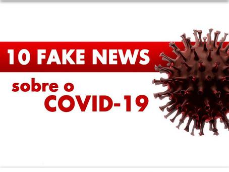 10 Fakes News sobre o COVID-19