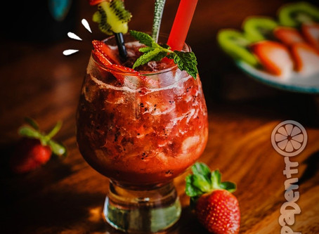 Drinks com Morango