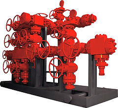 Pressure control equipment, accumulators, BOP's, Flangers, Flowline, Gate, Valves & Adapters