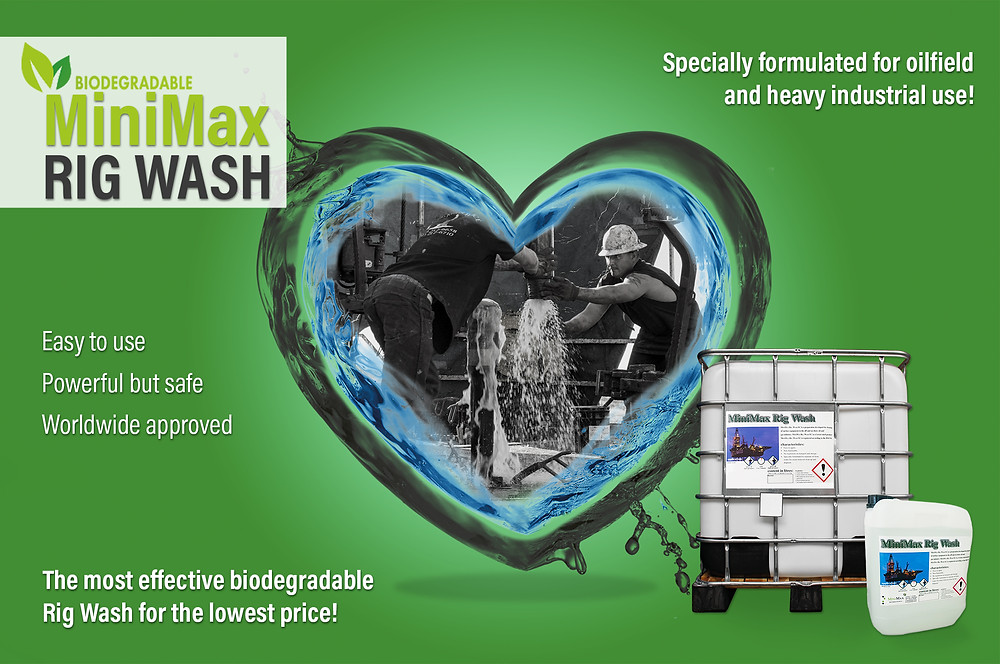 The most effective biodegradable Rig Wash for the Lowest Price