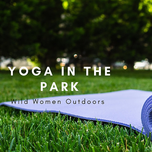Yoga In the Park- Colorado August