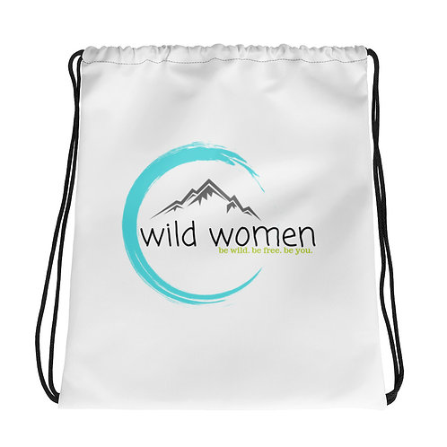 Wild Women Outdoors Drawstring bag