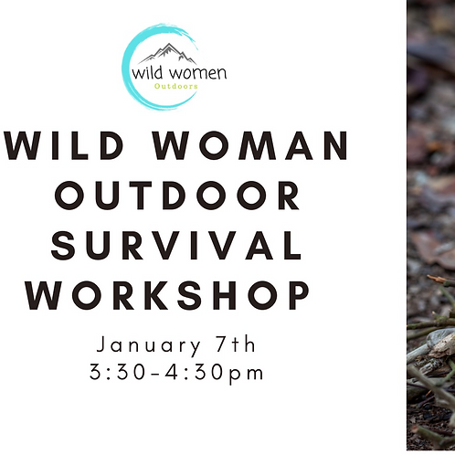 January - Outdoor Survival Workshop - Colorado