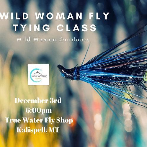 December Fly Tying Class- Kalispell