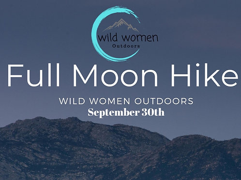 Sept. 30th Full Moon Mindfulness Hike Colorado