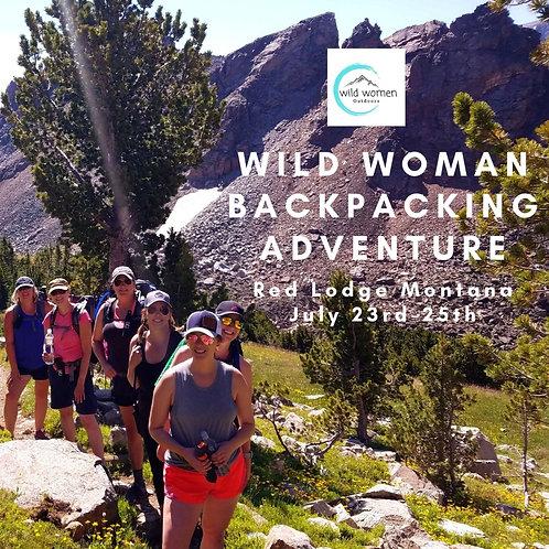 Advanced Hiker Backpacking Trip