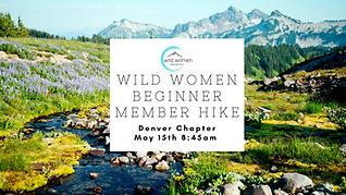 WIld Women Beginner Member Hike- Denver