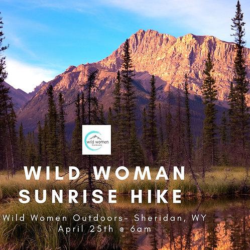 Sunrise Hike- Sheridan, Wyoming