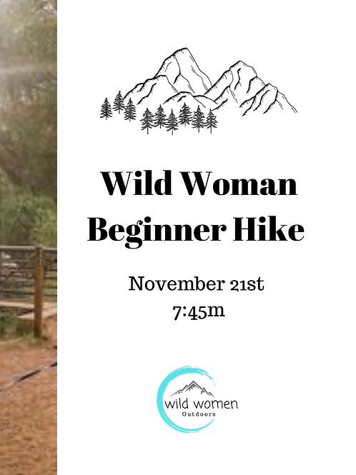 November Beginner Hike- Colorado