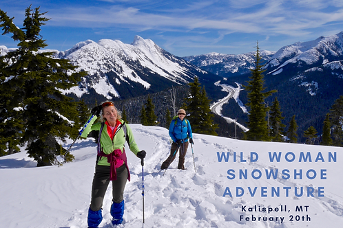 Beginner Snowshoe Adventure- Kalispell