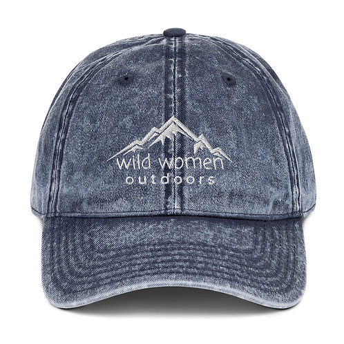 Wild Women Outdoors Vintage Cap