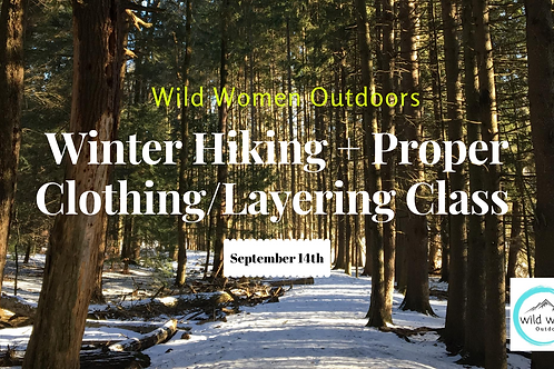 Winter Hiking + Layering Class-Colorado (Members Free)