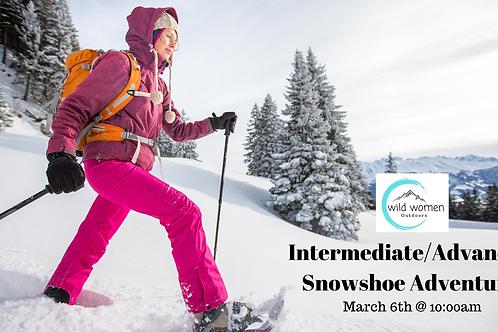 Intermediate-Advanced Snowshoe Hike- Helena