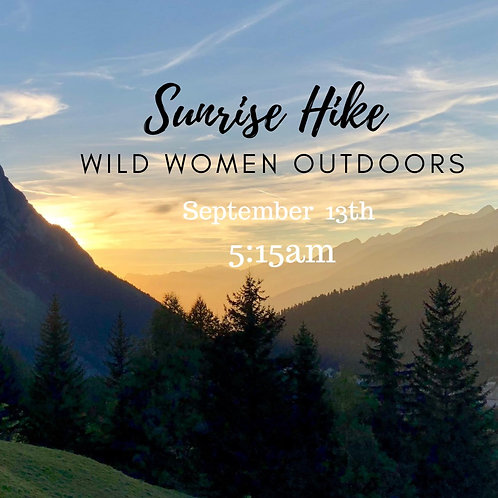 Sunrise Hike- Colorado (Members Free)