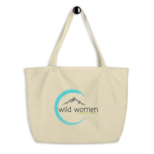 Wild Women Outdoors Large organic tote bag