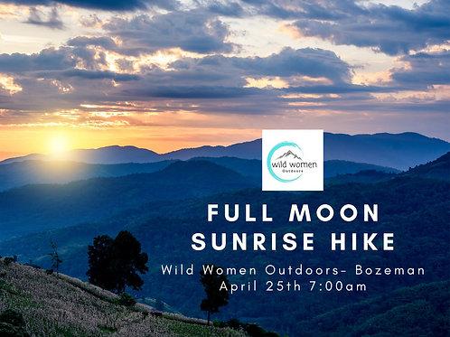 Full Moon Sunrise Hike- Bozeman