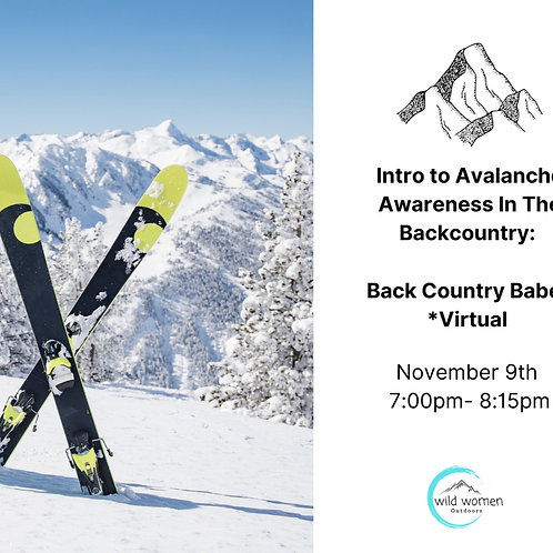 Intro to Avalanche Awareness in the Backcountry with Backcountry Babes - VIRTUAL