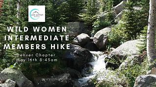 Wild Women Intermediate members Hike- De