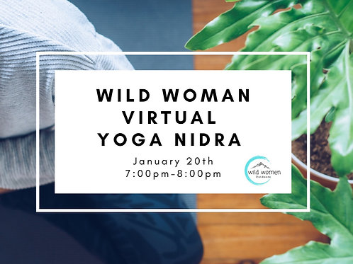 January - Virtual Yoga Nidra