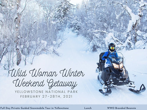 Pay In Full Double Rider- Yellowstone Weekend Winter Getaway - Montana