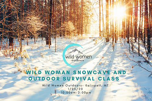Winter Survival & Snow Cave Class- Kalispell