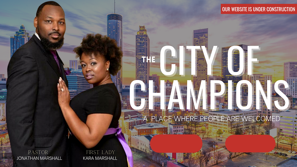 City of Champions website cover page 2.p