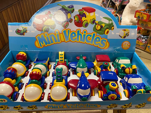 Jackpot Mini Vehicles