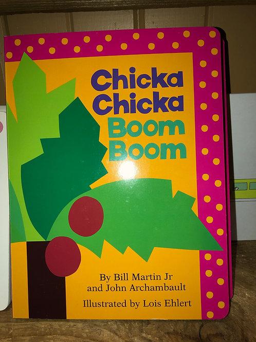 Chicka Chicka Boom Boom Large Board Book