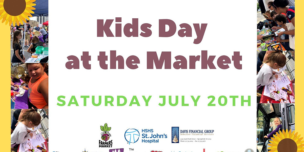 Kids Day at the Market