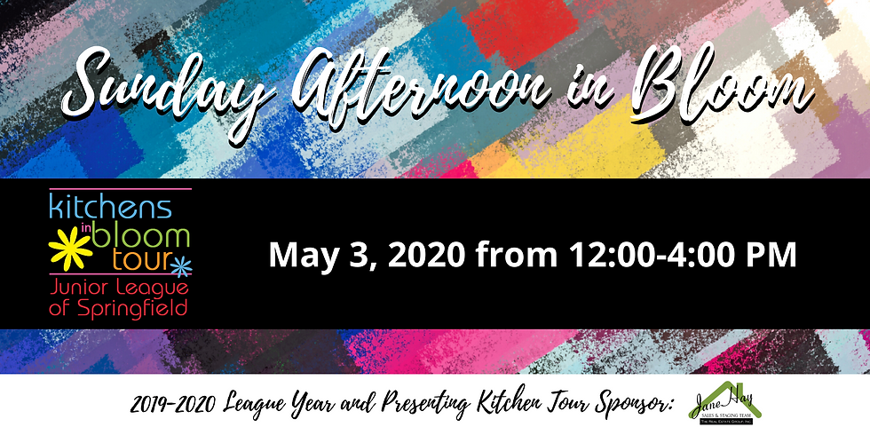 2020 Kitchens in Bloom Tour - POSTPONED UNTIL FALL