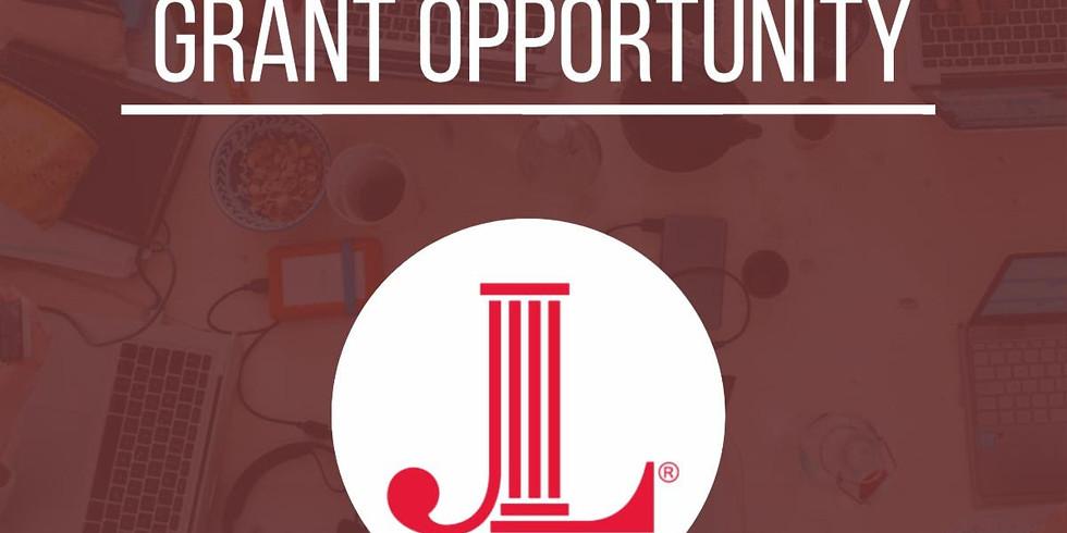 JLS Capacity Building Grants: Now Open!