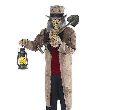 Gravedigger Animated Figure