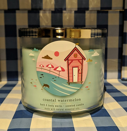 Coastal Watermelon 3-Wick Candle